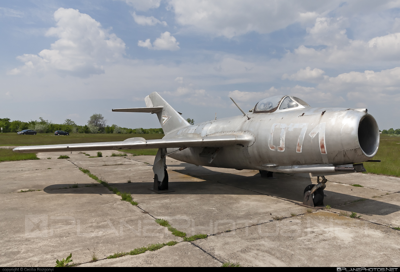 Mikoyan-Gurevich MiG-15bis - 071 operated by Magyar Néphadsereg (Hungarian People's Army) #hungarianpeoplesarmy #magyarnephadsereg #mig #mig15 #mig15bis #mikoyangurevich