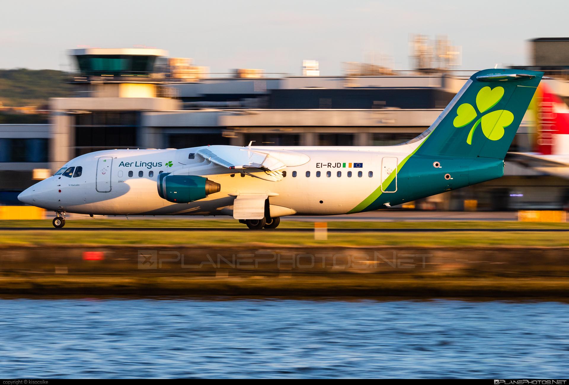 Aer Lingus British Aerospace Avro RJ85 - EI-RJD #aerlingus #avro146rj85 #avrorj85 #bae146 #britishaerospace