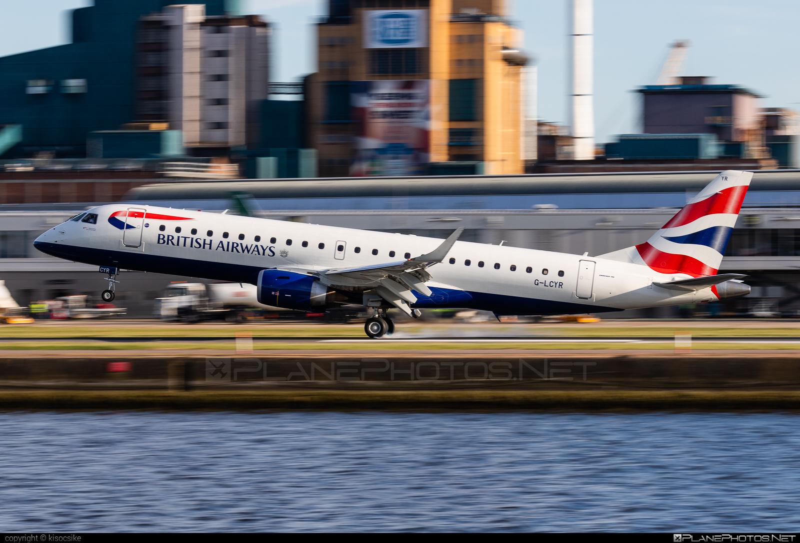 Embraer E190SR (ERJ-190-100SR) - G-LCYR operated by BA CityFlyer #e190 #e190100 #e190100sr #e190sr #embraer #embraer190 #embraer190100sr #embraer190sr