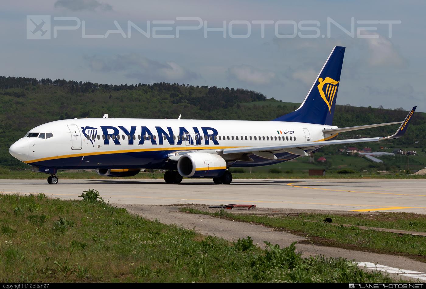 Boeing 737-800 - EI-GDP operated by Ryanair #b737 #b737nextgen #b737ng #boeing #boeing737 #ryanair
