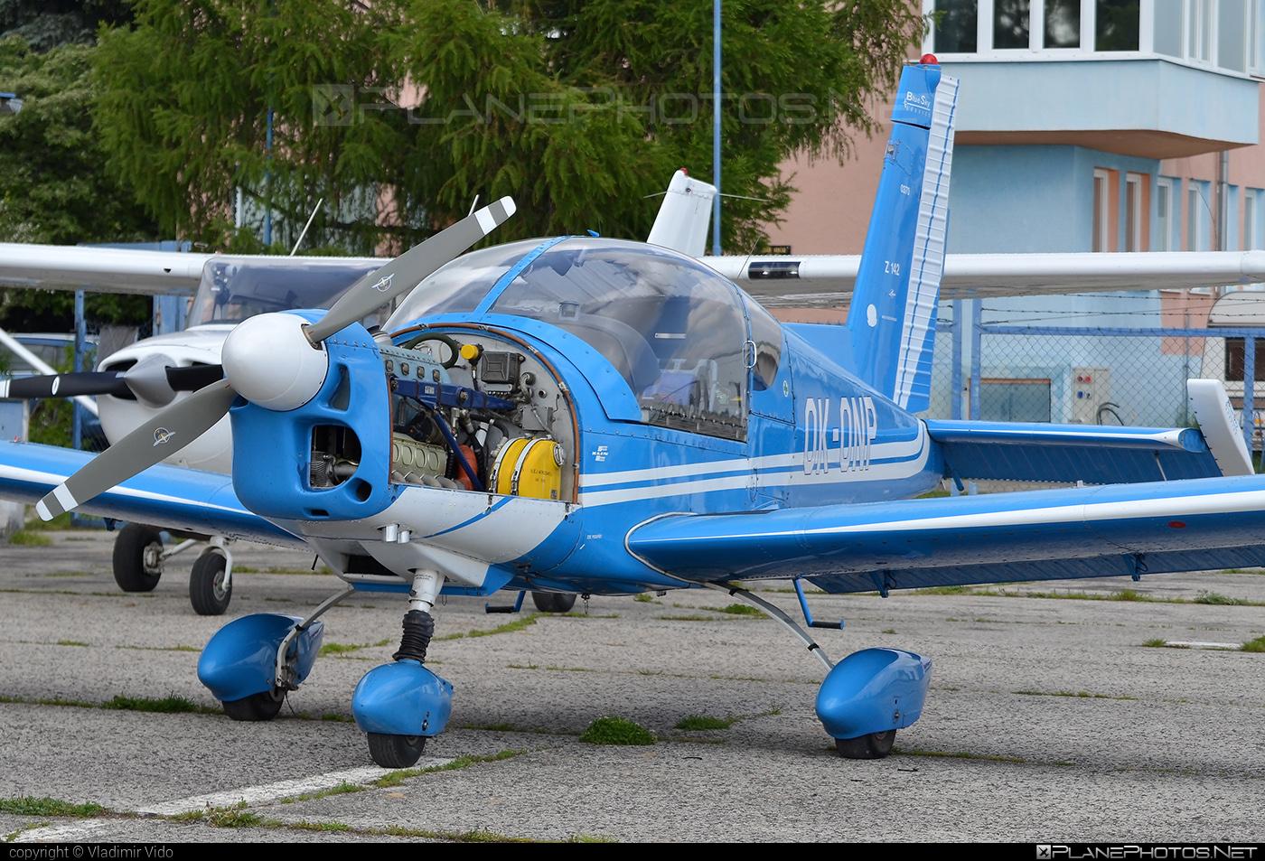 Zlin Z-142 - OK-ONP operated by Blue Sky Service #z142 #zlin #zlin142