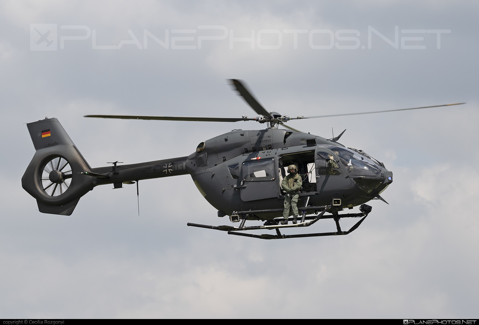 Airbus Helicopters H145M - 76+03 operated by Luftwaffe (German Air Force) #airbushelicopters