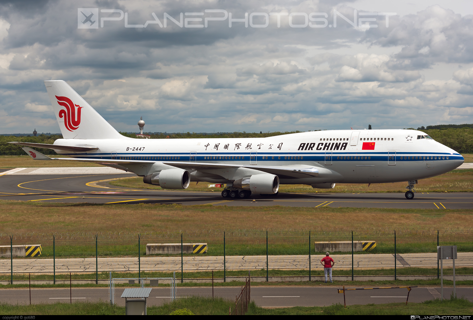 Boeing 747-400 - B-2447 operated by Air China #airchina #b747 #boeing #boeing747 #jumbo