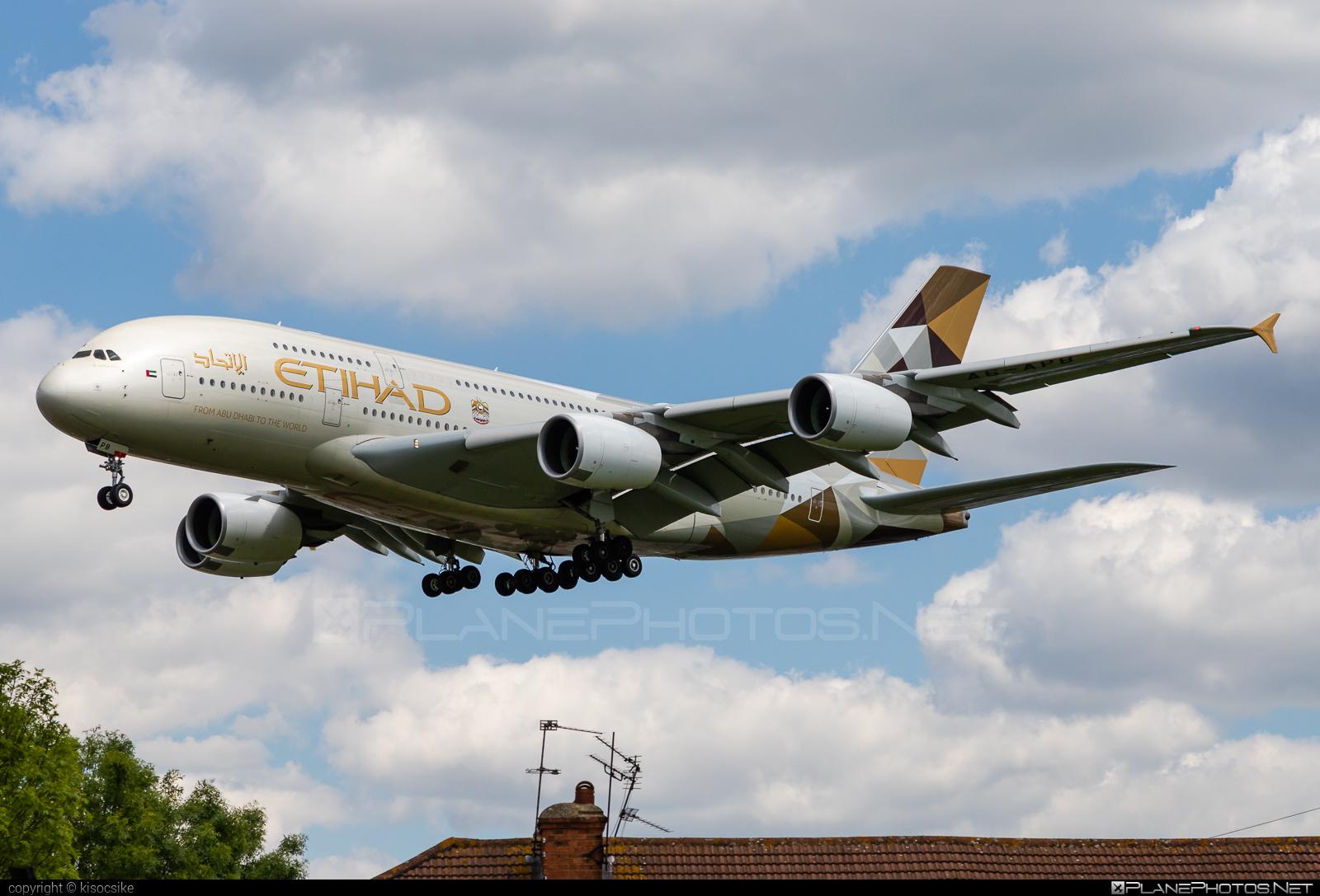 Airbus A380-861 - A6-APB operated by Etihad Airways #a380 #a380family #airbus #airbus380 #etihad #etihadairways