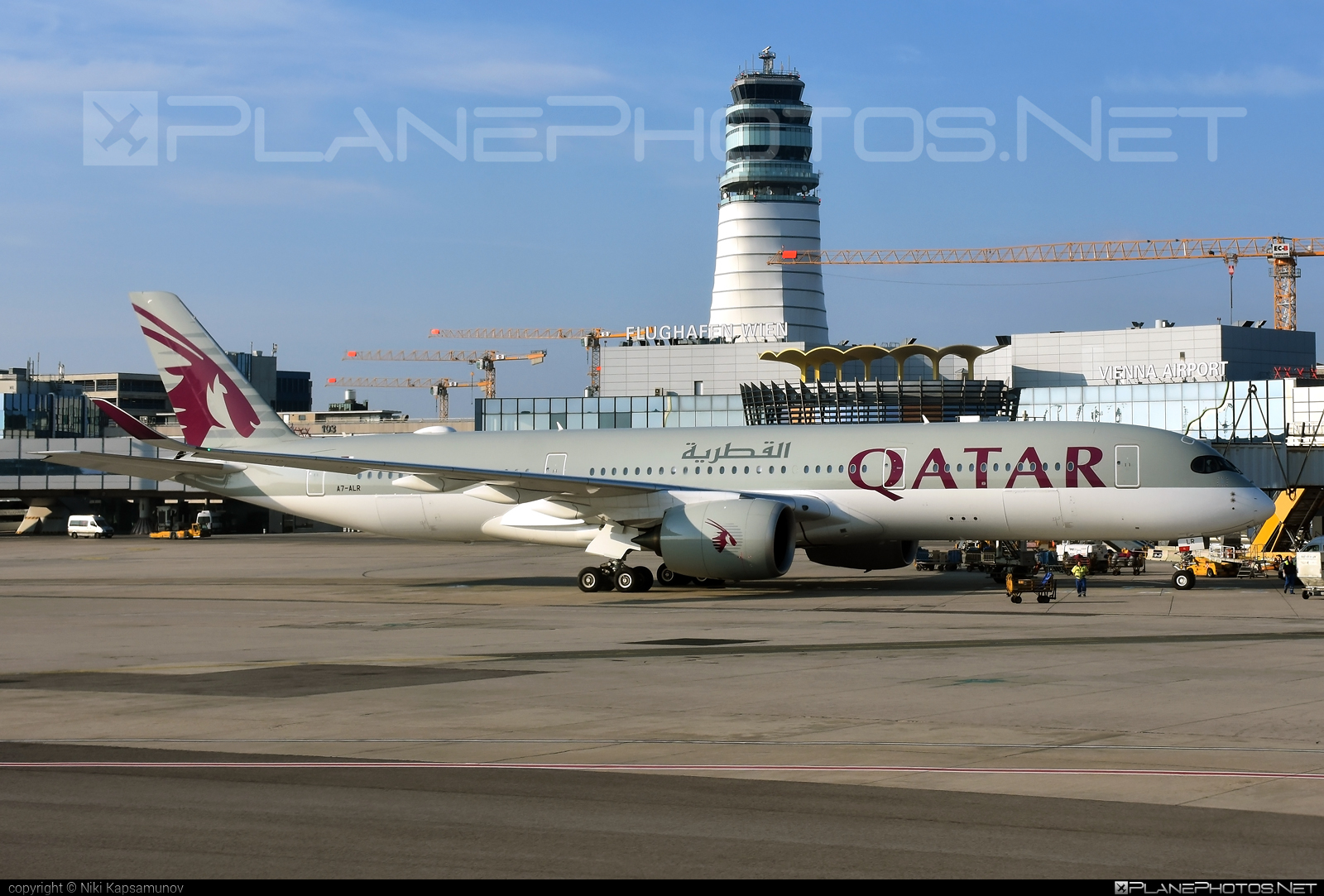 Airbus A350-941 - A7-ALR operated by Qatar Airways #a350 #a350family #airbus #airbus350 #qatarairways #xwb