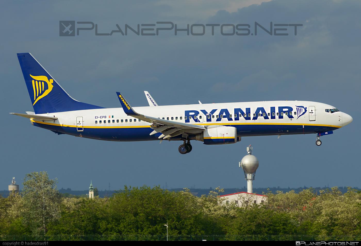 Boeing 737-800 - EI-EPB operated by Ryanair #b737 #b737nextgen #b737ng #boeing #boeing737 #ryanair