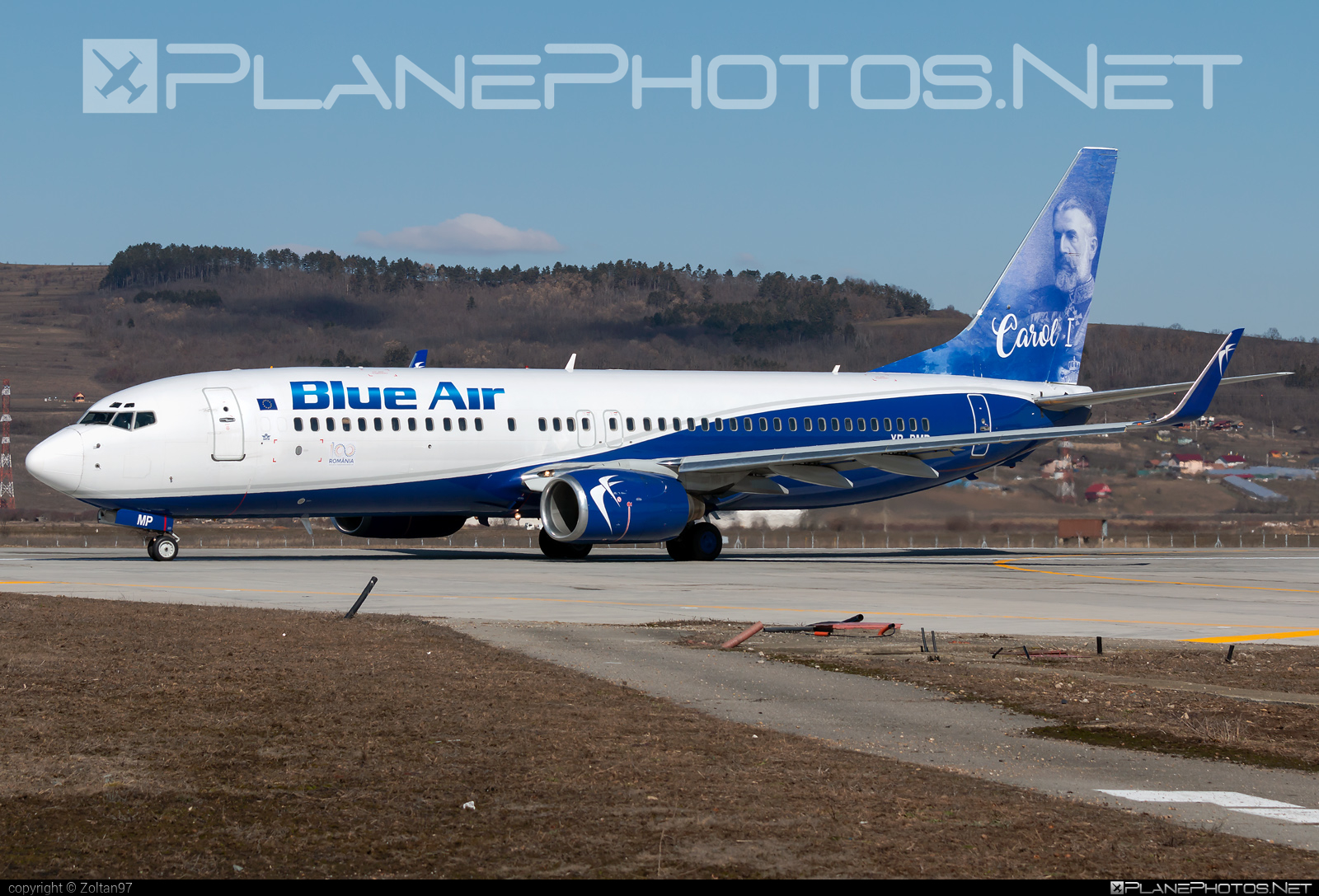 Boeing 737-800 - YR-BMP operated by Blue Air #b737 #b737nextgen #b737ng #boeing #boeing737