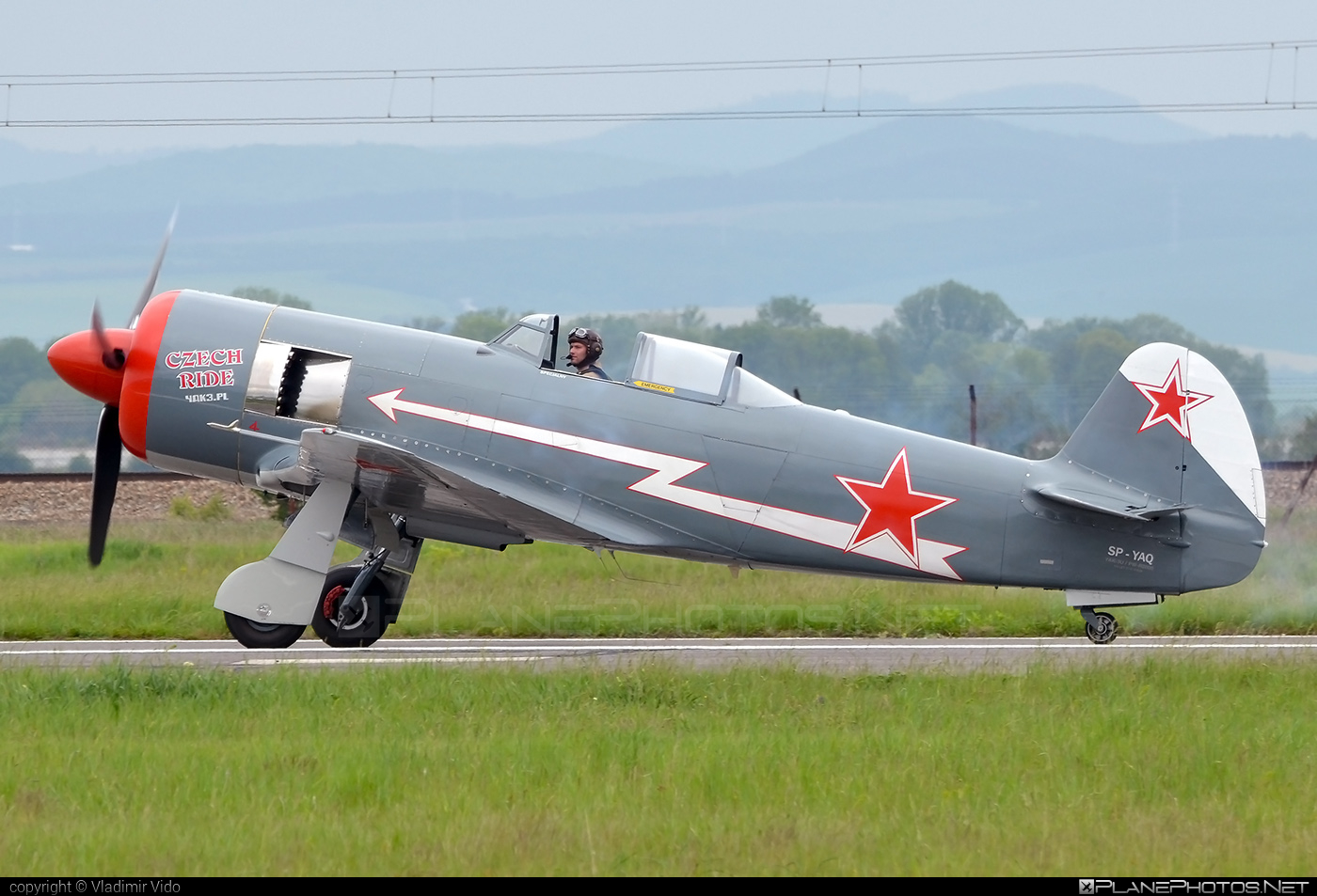 Yakovlev Yak-11-R-2000 - SP-YAQ operated by Private operator #yak #yak11 #yak11r2000 #yakovlev #yakovlev11 #yakovlevyak11
