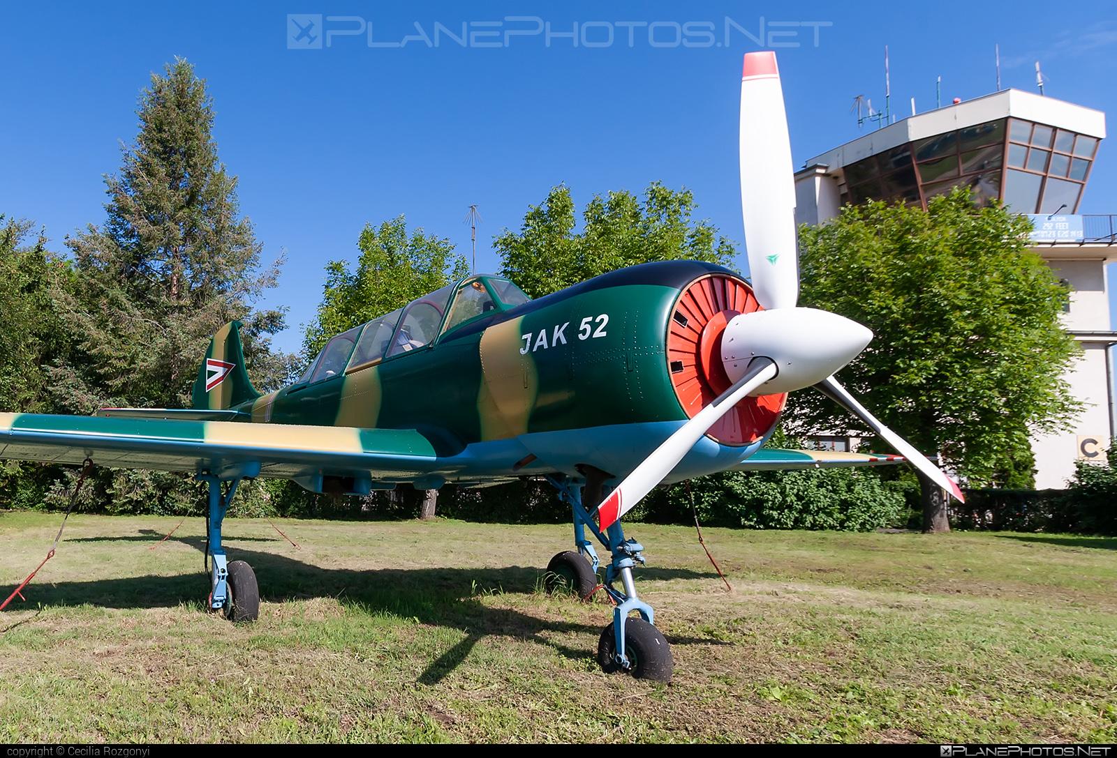 Yakovlev Yak-52 - 11 operated by Magyar Légierő (Hungarian Air Force) #hungarianairforce #magyarlegiero #yak #yak52 #yakovlev