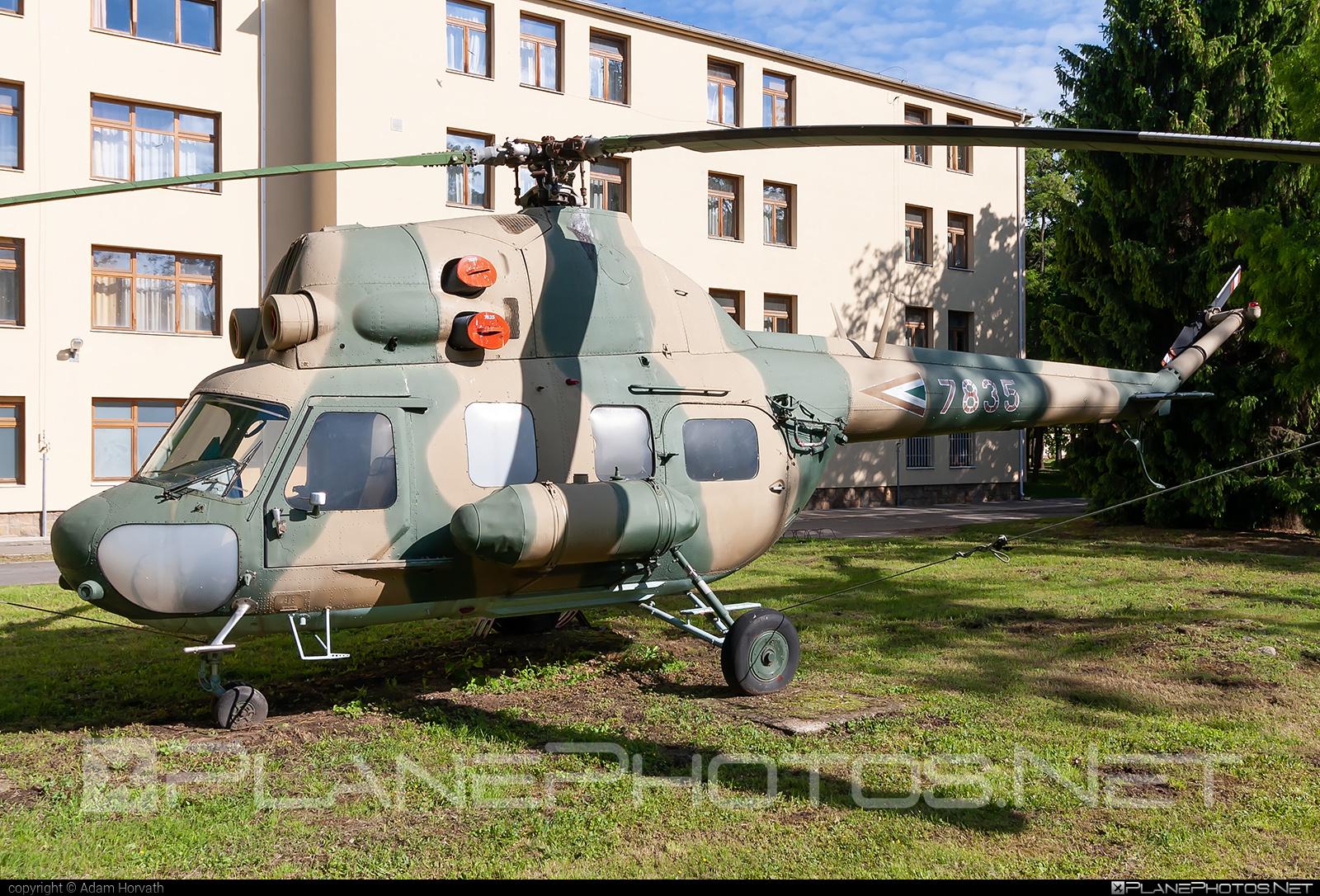 Mil Mi-2 - 7835 operated by Magyar Légierő (Hungarian Air Force) #hungarianairforce #magyarlegiero #mil #milhelicopters