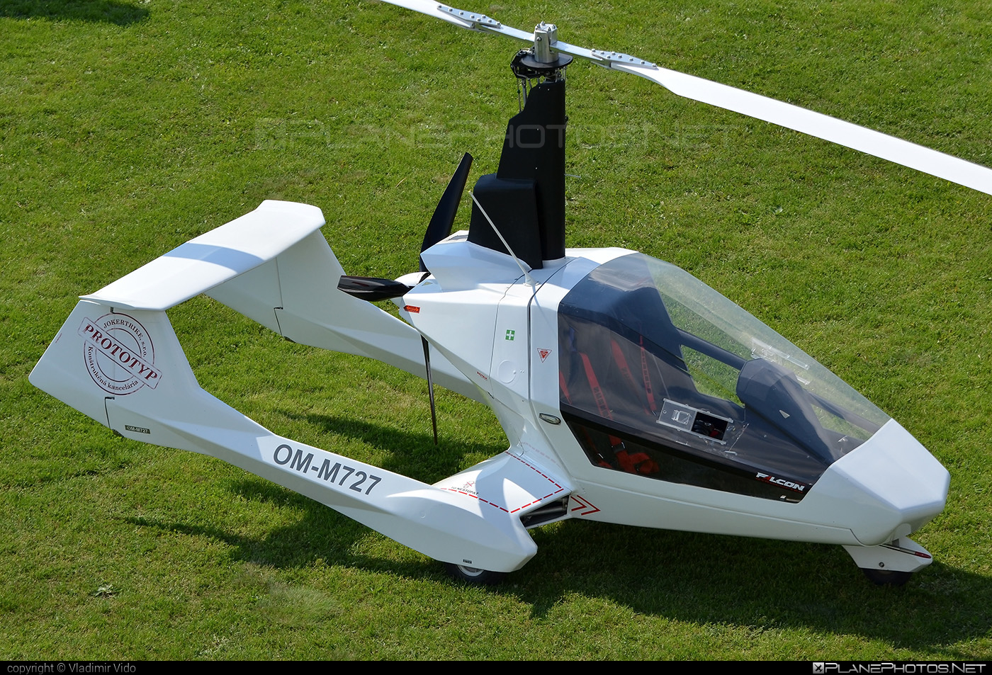 JOKERTRIKE Falcon - OM-M727 operated by Private operator #falcongyrocopter #jokergyrocopter #jokertrike #jokertrikefalcon