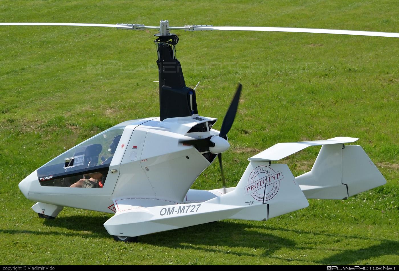 JOKERTRIKE Falcon - OM-M727 operated by Private operator #falcongyrocopter #jokergyrocopter #jokertrike #jokertrikefalcon