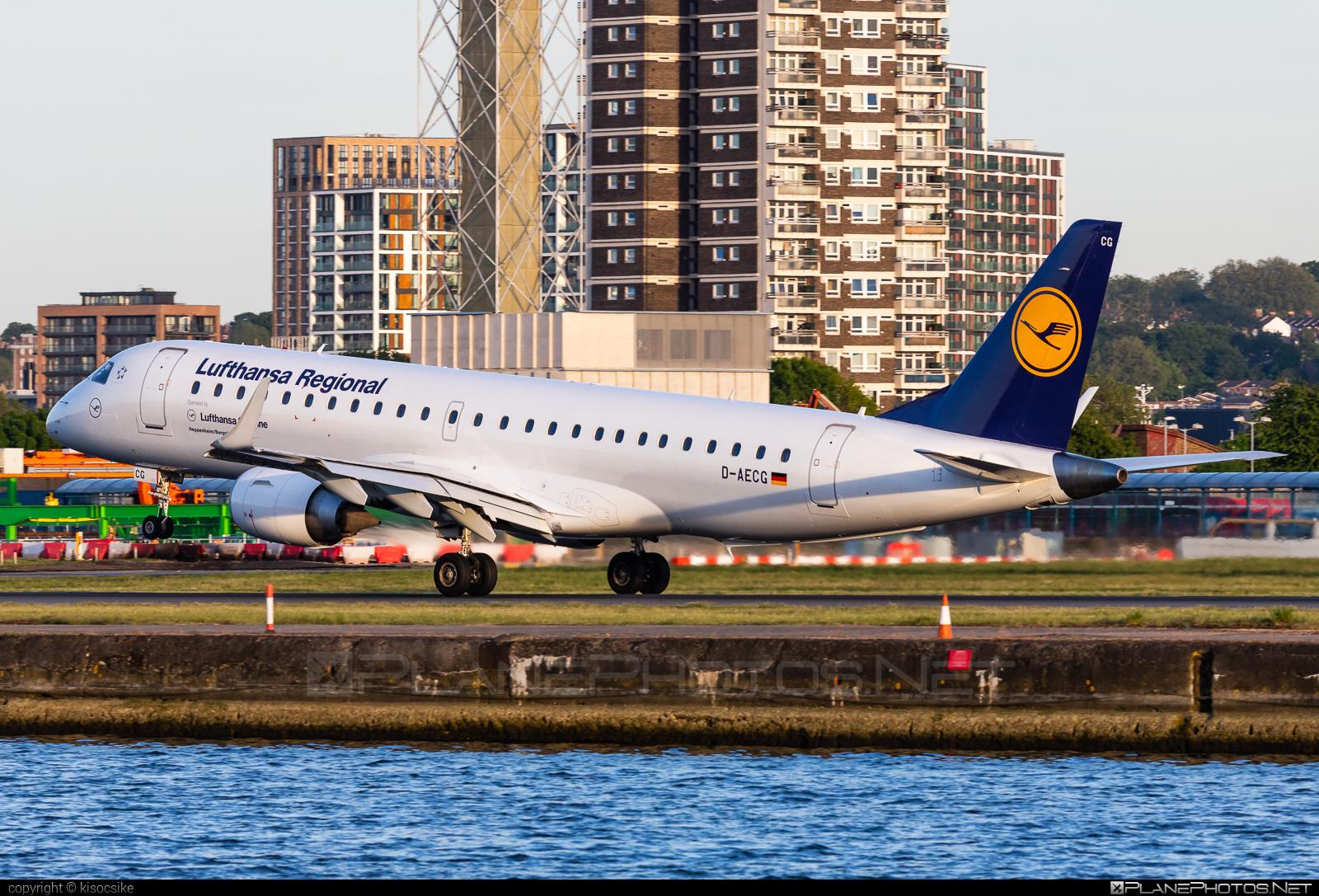 Embraer E190LR (ERJ-190-100LR) - D-AECG operated by Lufthansa CityLine #e190 #e190100 #e190100lr #e190lr #embraer #embraer190 #embraer190100lr #embraer190lr #lufthansa #lufthansacityline