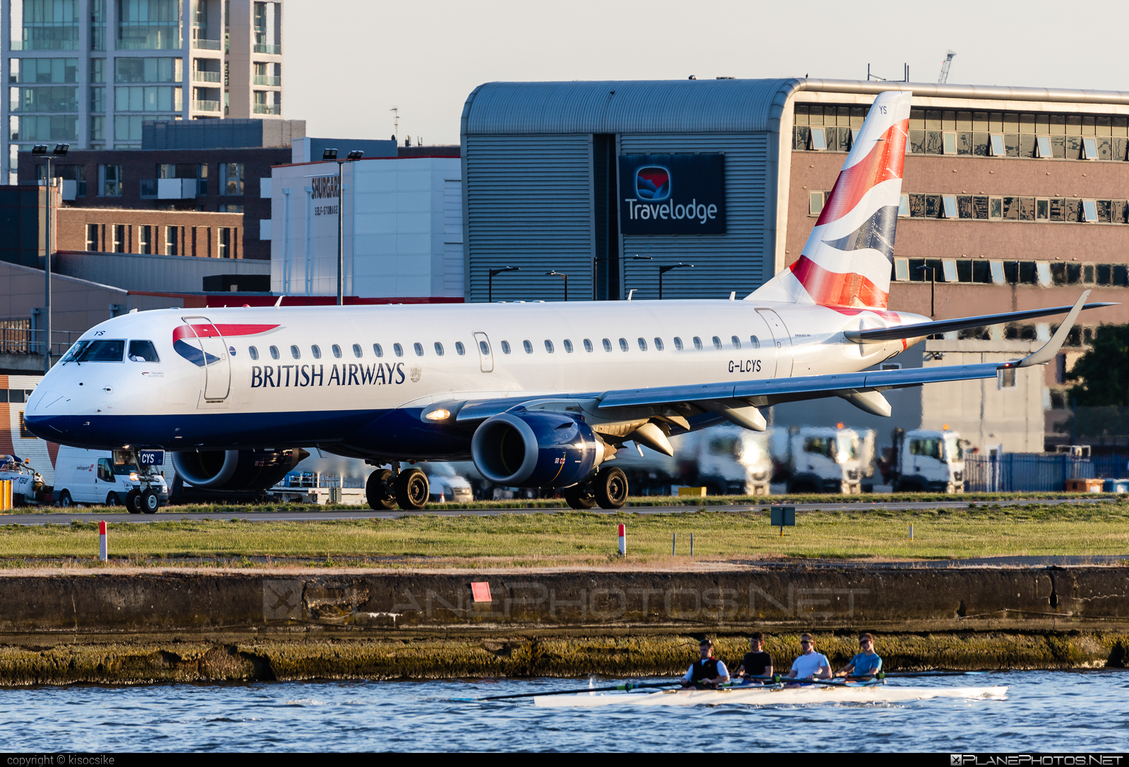 Embraer E190SR (ERJ-190-100SR) - G-LCYS operated by BA CityFlyer #e190 #e190100 #e190100sr #e190sr #embraer #embraer190 #embraer190100sr #embraer190sr