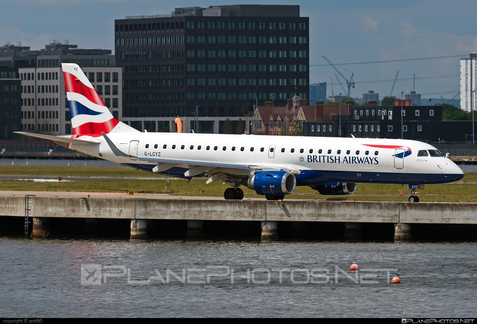 Embraer E190SR (ERJ-190-100SR) - G-LCYZ operated by BA CityFlyer #e190 #e190100 #e190100sr #e190sr #embraer #embraer190 #embraer190100sr #embraer190sr