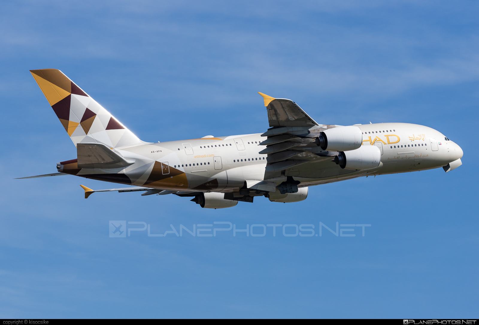 Airbus A380-861 - A6-APA operated by Etihad Airways #a380 #a380family #airbus #airbus380 #etihad #etihadairways