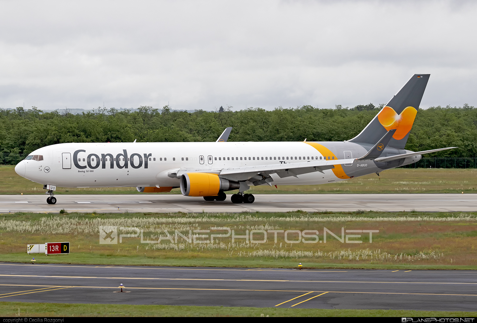 Boeing 767-300ER - D-ABUO operated by Condor #b767 #b767er #boeing #boeing767