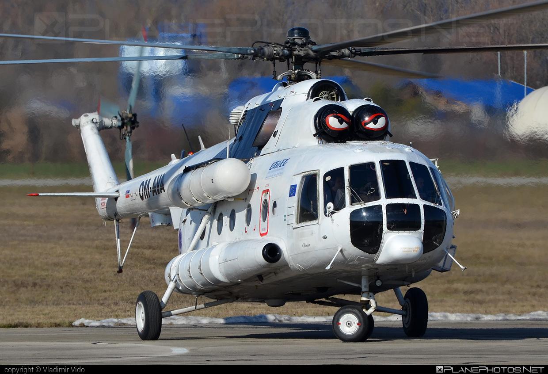Mil Mi-8MTV - OM-AVA operated by UTair Europe #mil #milhelicopters #utair #utaireurope
