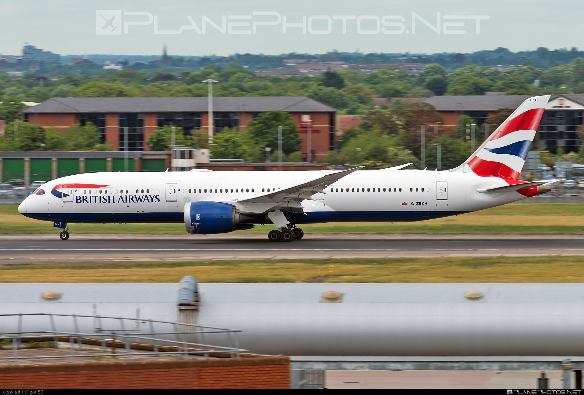 Boeing 787-9 Dreamliner - G-ZBKH operated by British Airways #b787 #boeing #boeing787 #britishairways #dreamliner