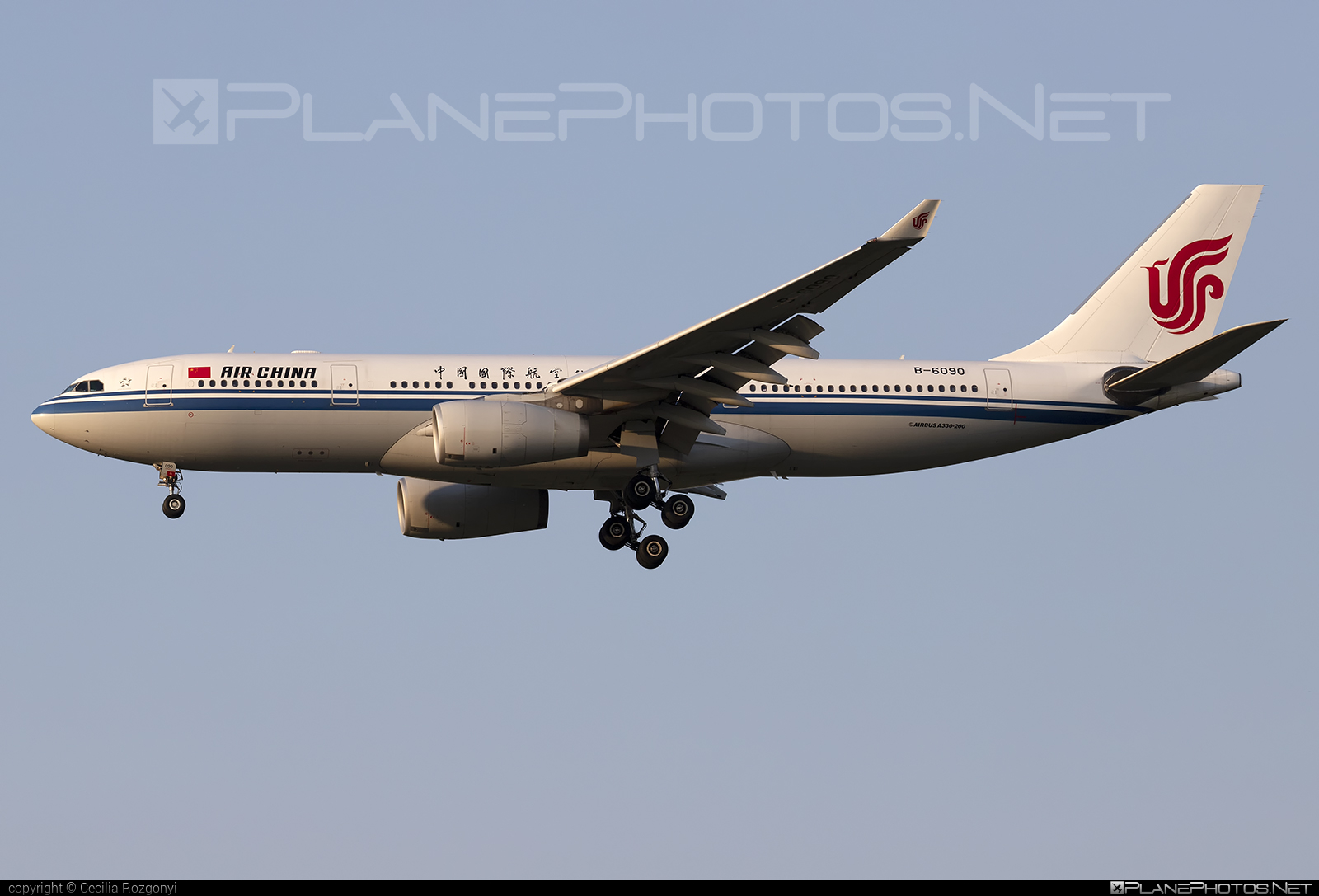 Airbus A330-243 - B-6090 operated by Air China #a330 #a330family #airbus #airbus330 #airchina