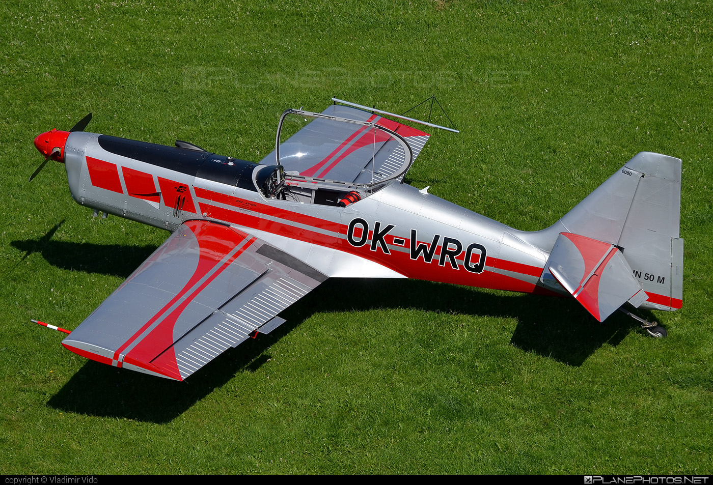 Zlin Z-50M - OK-WRQ operated by Private operator #z50 #z50m #zlin #zlin50