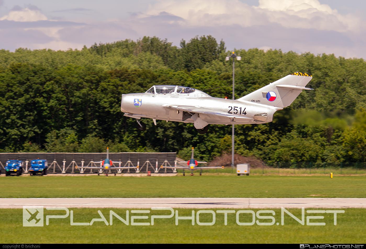 Aero CS-102 - OK-UTI operated by CZECH FLYING LEGENDS s.r.o. #aero #aerocs102 #mig15 #mig15uti