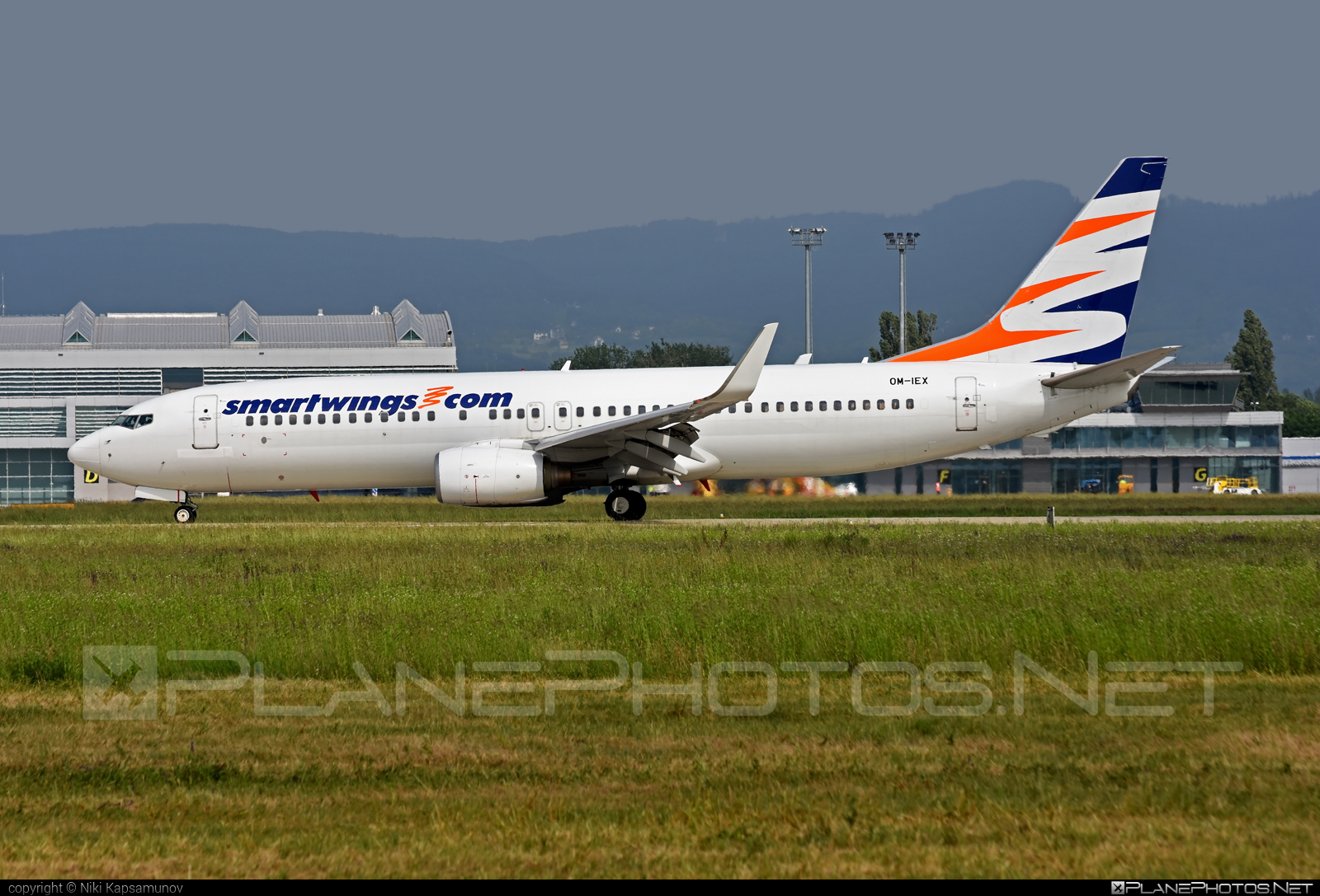 Boeing 737-800 - OM-IEX operated by AirExplore #airexplore #b737 #b737nextgen #b737ng #boeing #boeing737 #smartwings