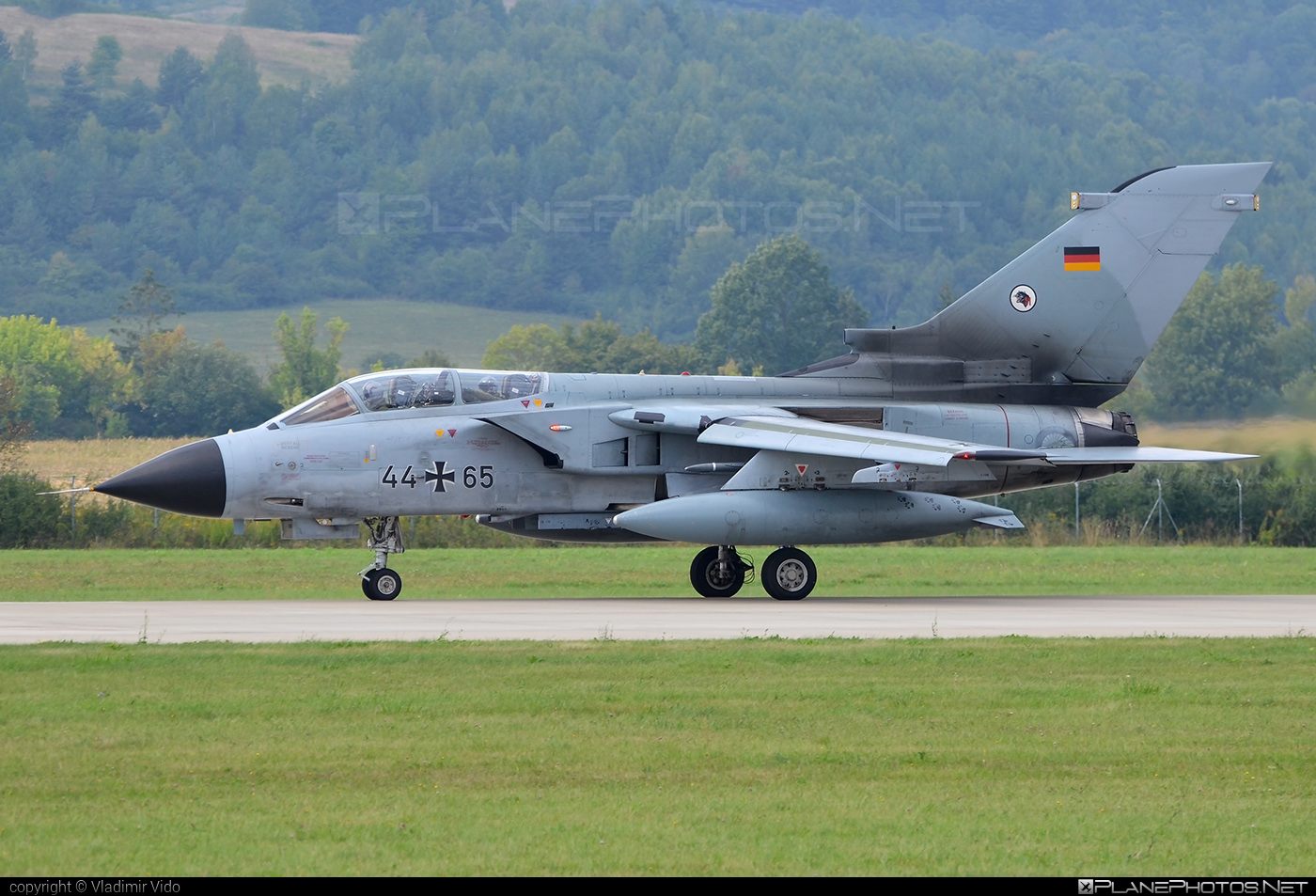 Panavia Tornado IDS - 44+65 operated by Luftwaffe (German Air Force) #panavia #panaviatornado #siaf2018 #tornadoids