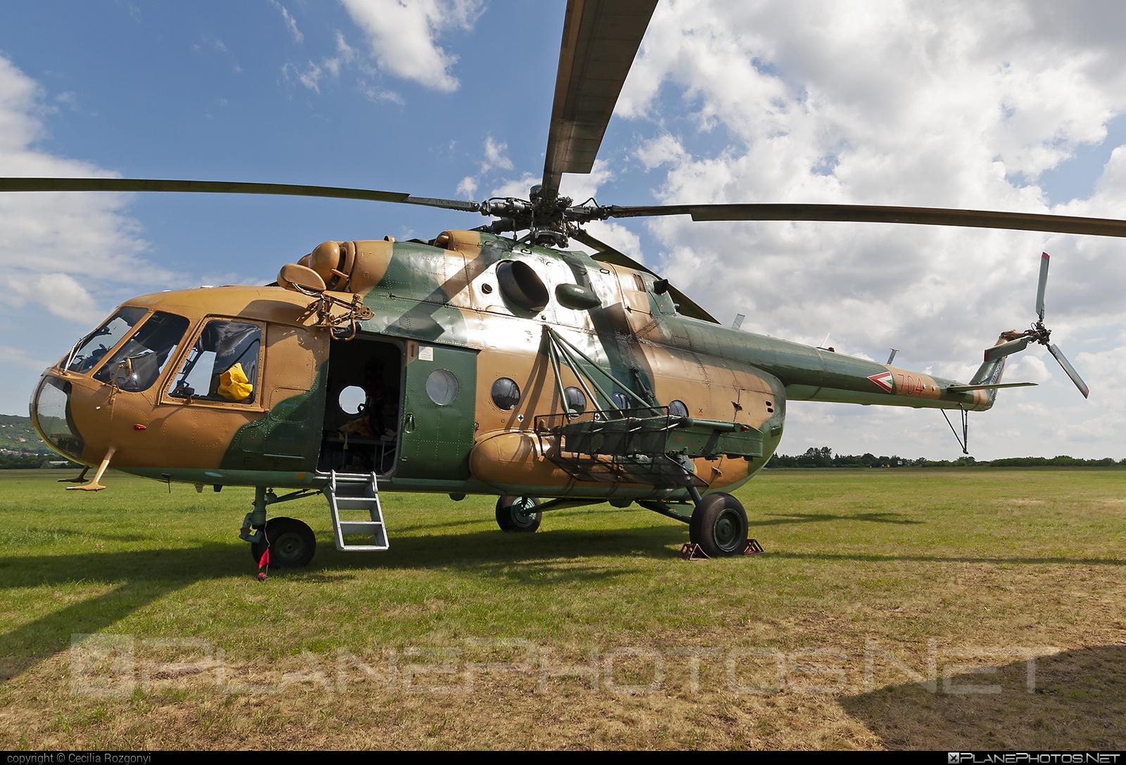 704 - Mil Mi-17N operated by Magyar Légierő (Hungarian Air Force