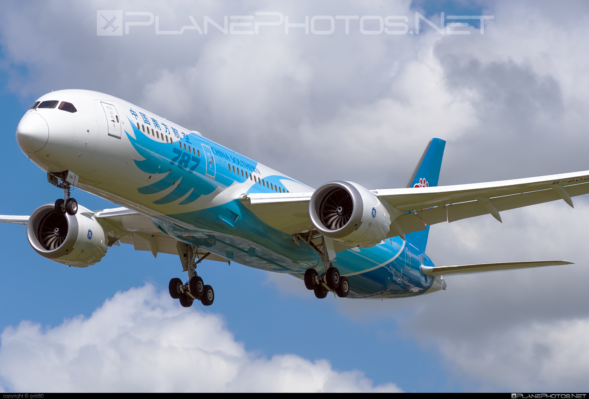 Boeing 787-9 Dreamliner - B-209X operated by China Southern Airlines #b787 #boeing #boeing787 #dreamliner