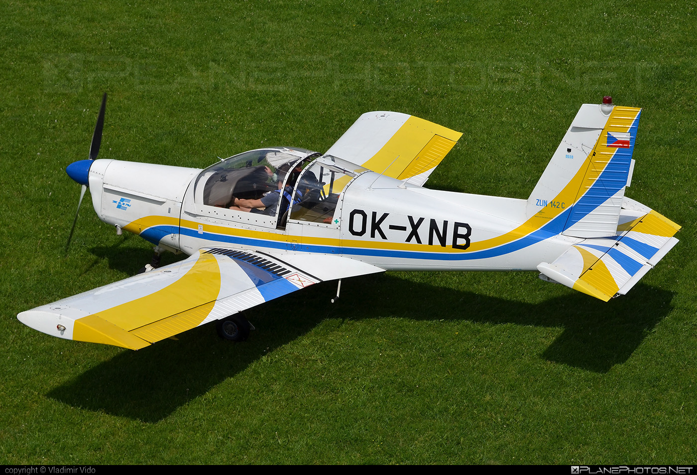 Zlin Z-142C - OK-XNB operated by D FLIGHT s.r.o. #dflight #z142 #z142c #zlin #zlin142