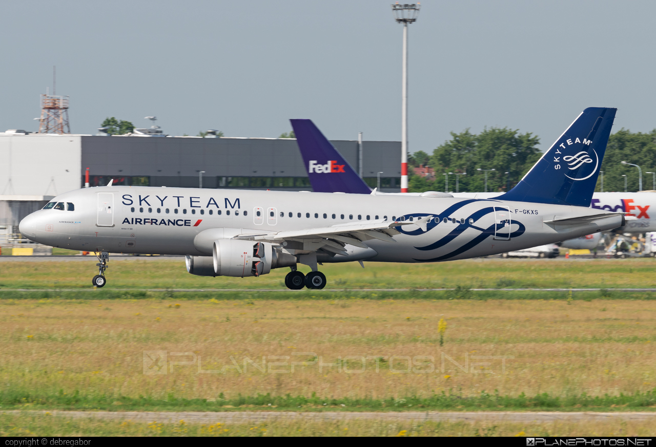 Airbus A320-214 - F-GKXS operated by Air France #a320 #a320family #airbus #airbus320 #airfrance #skyteam