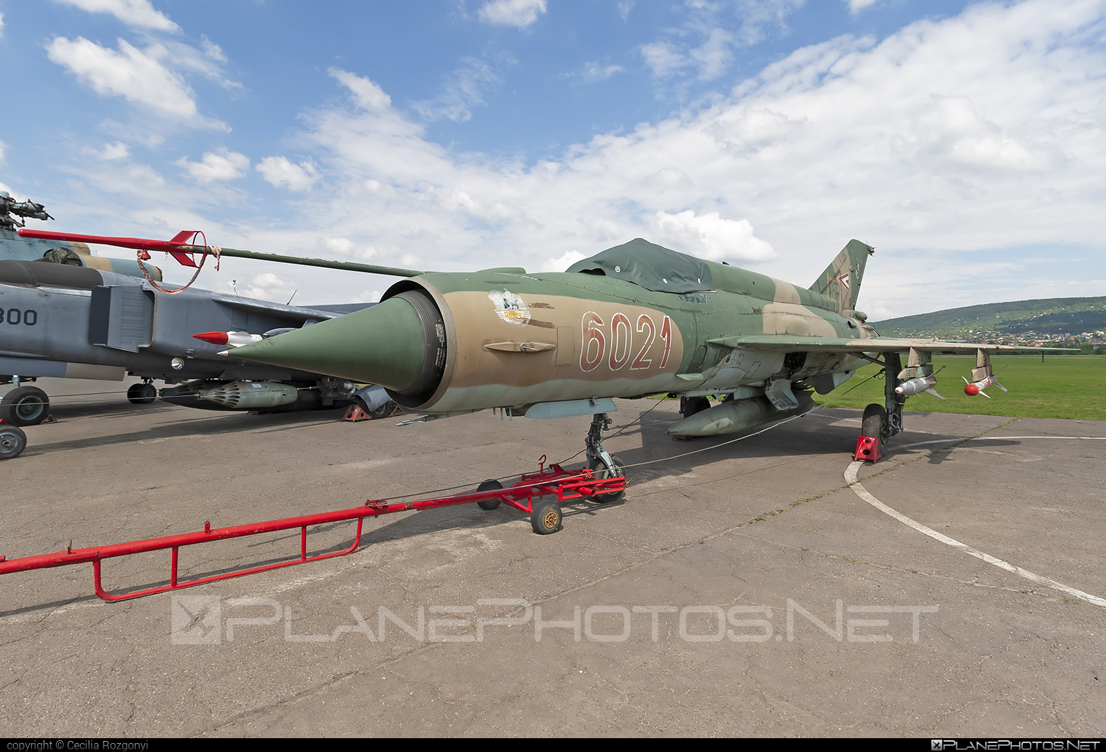 Mikoyan-Gurevich MiG-21bis - 6021 operated by Magyar Légierő (Hungarian Air Force) #hungarianairforce #magyarlegiero #mig #mig21 #mig21bis #mikoyangurevich