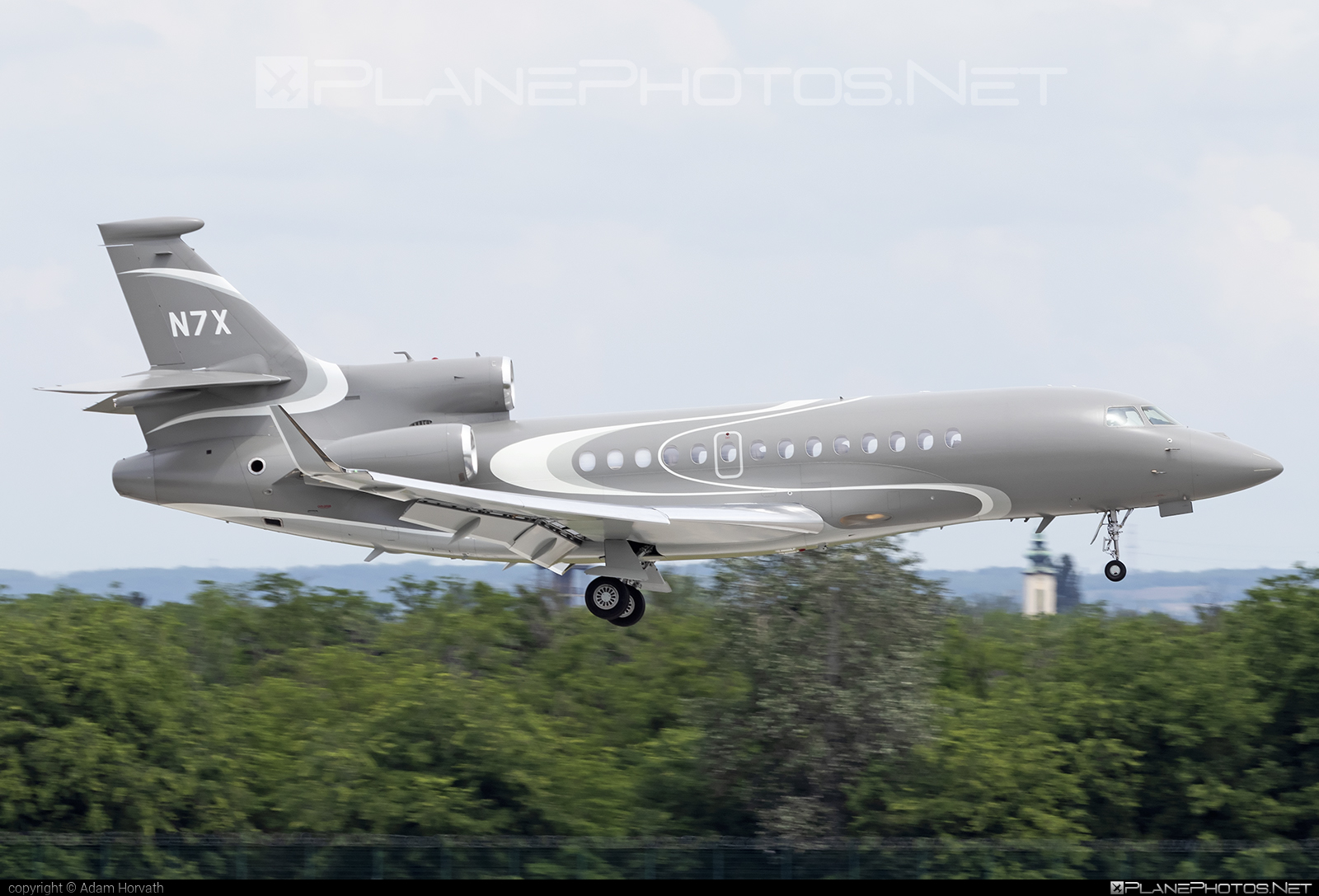 Dassault Falcon 7X - N7X operated by Private operator #dassault #dassaultfalcon #dassaultfalcon7x #falcon7x