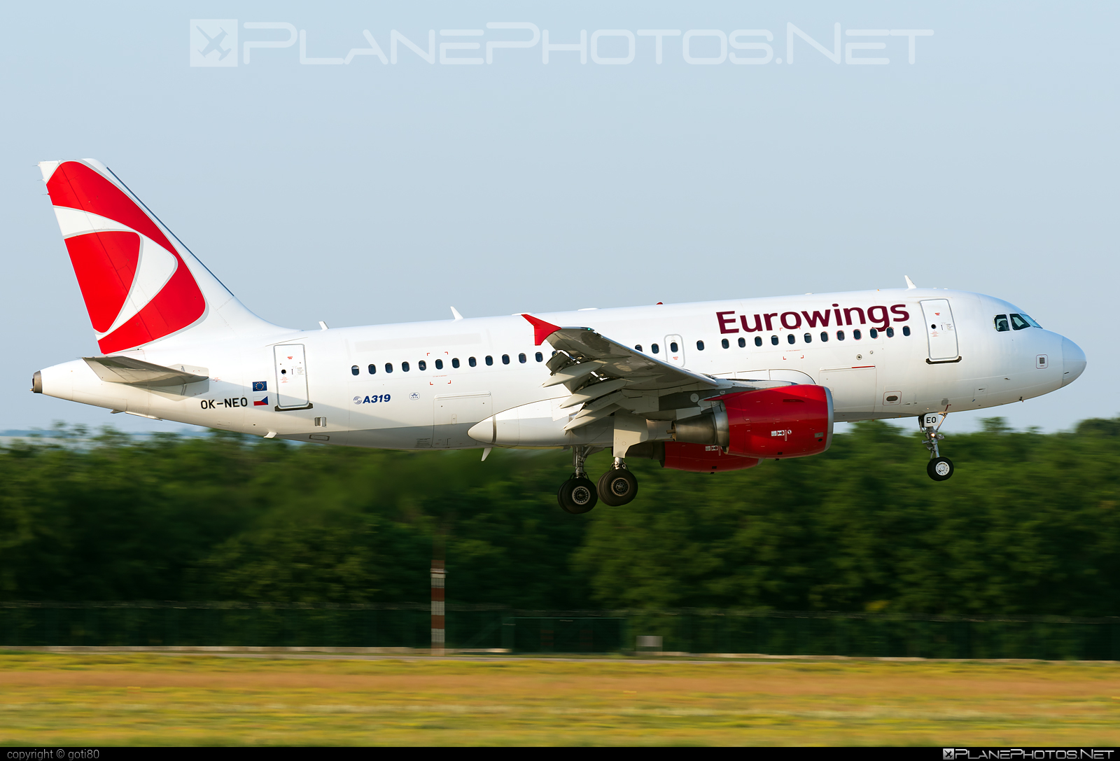 Airbus A319-112 - OK-NEO operated by Eurowings #a319 #a320family #airbus #airbus319 #eurowings