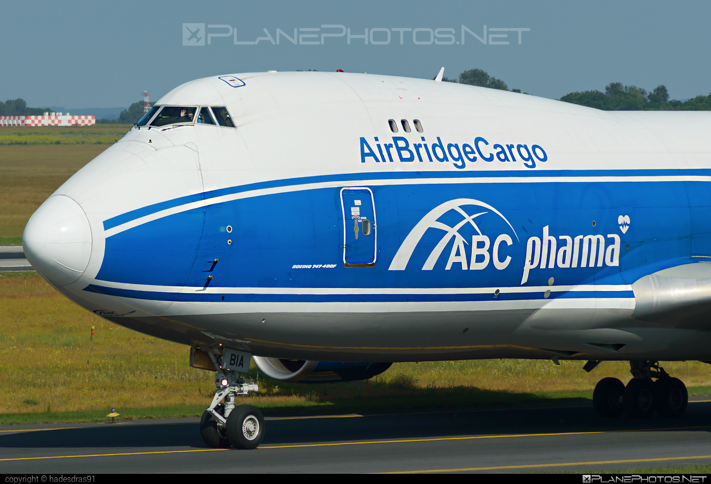 Boeing 747-400F - VQ-BIA operated by AirBridgeCargo #airbridgecargo #b747 #boeing #boeing747 #jumbo