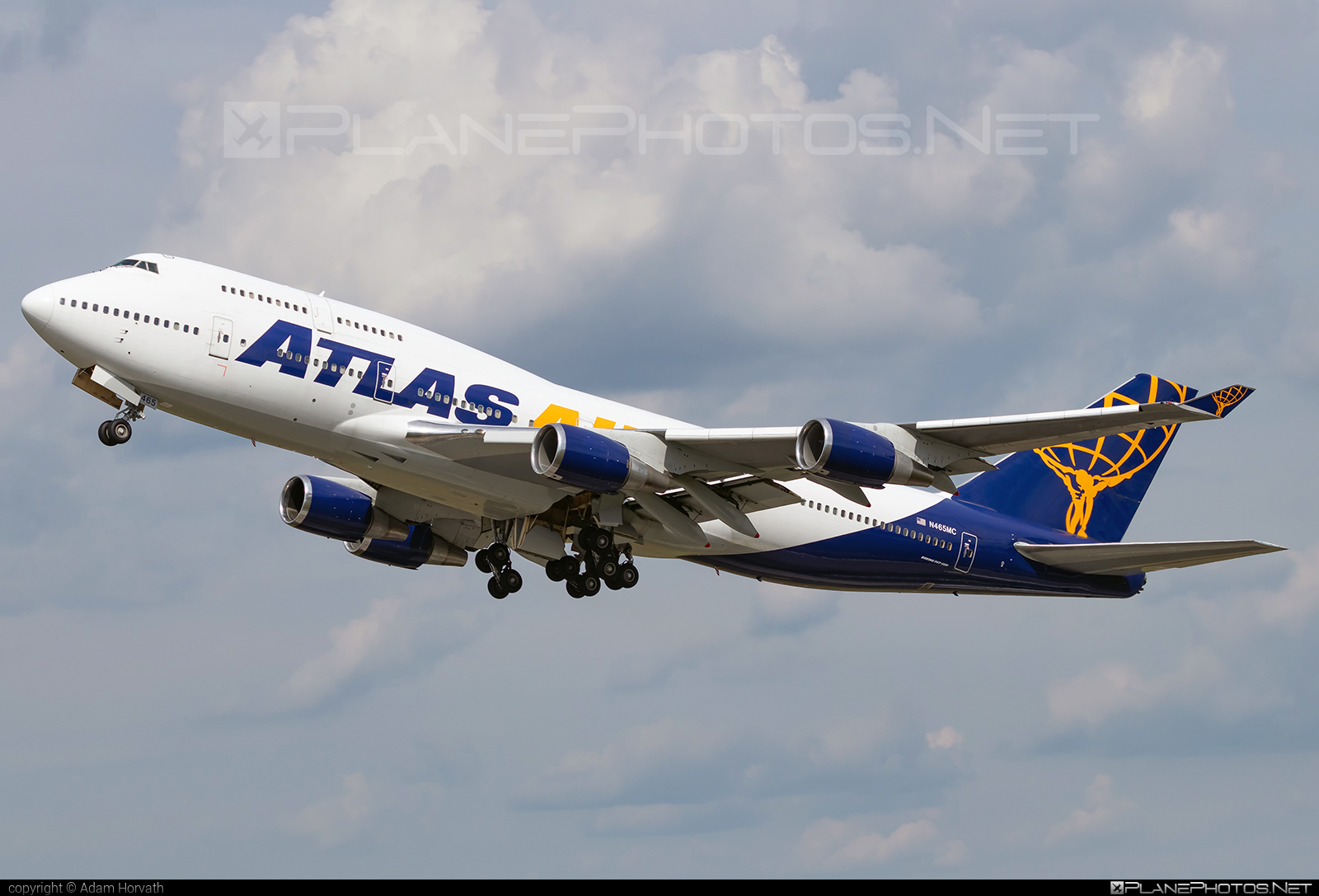 Boeing 747-400 - N465MC operated by Atlas Air #b747 #boeing #boeing747 #jumbo