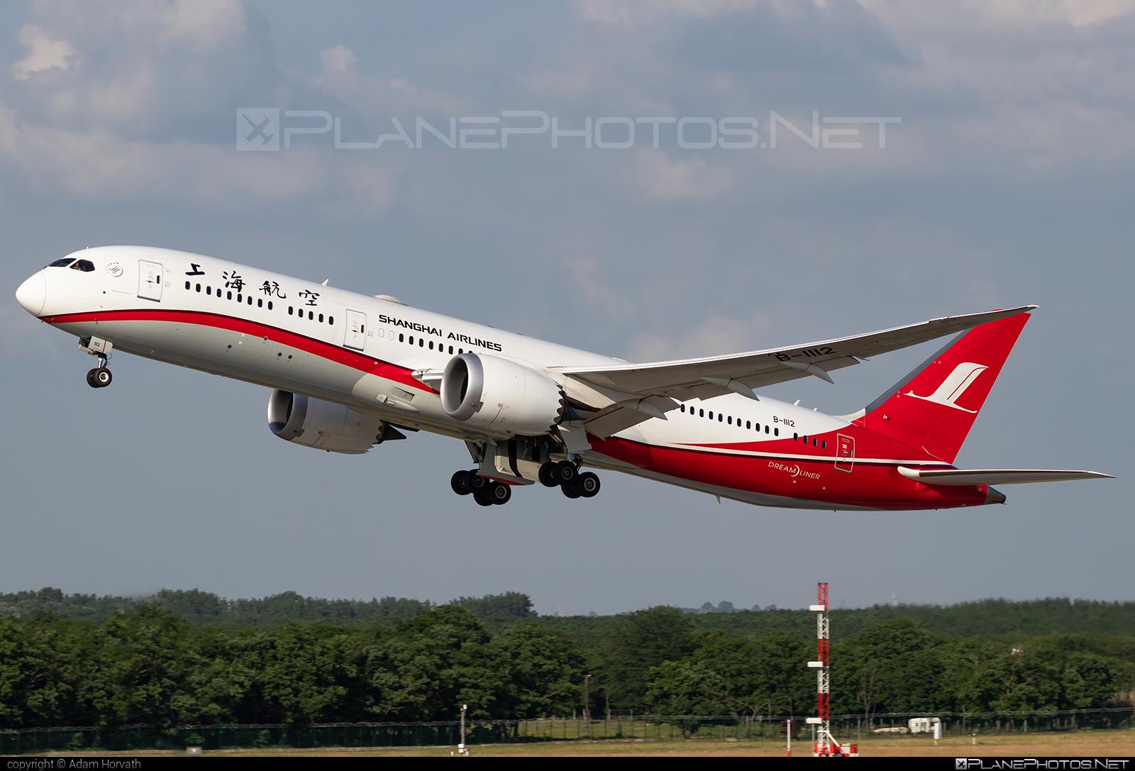 Boeing 787-9 Dreamliner - B-1112 operated by Shanghai Airlines #b787 #boeing #boeing787 #dreamliner
