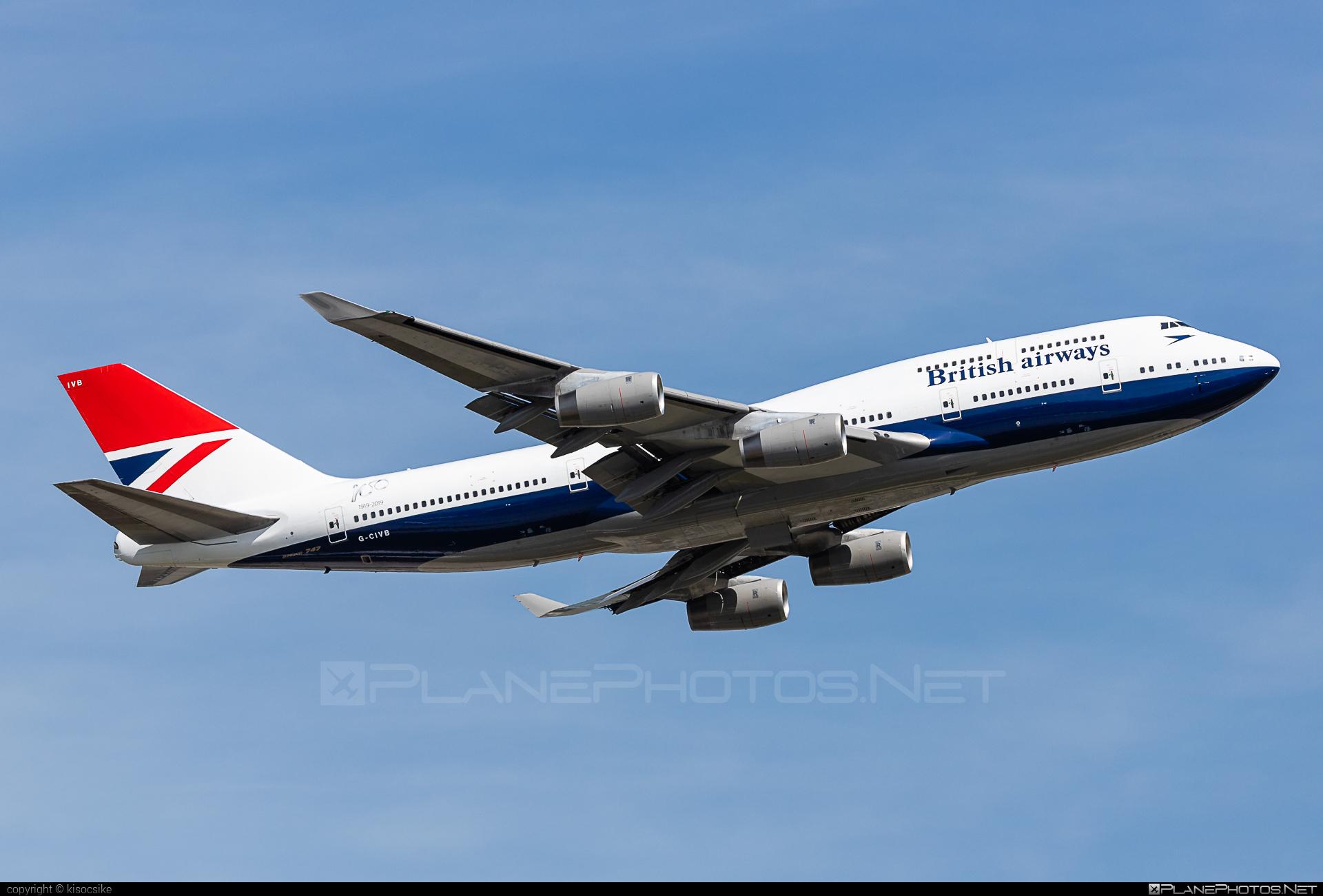 Boeing 747-400 - G-CIVB operated by British Airways #b747 #boeing #boeing747 #britishairways #jumbo