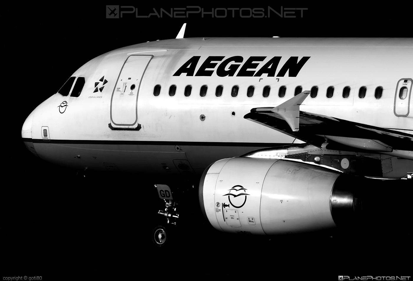 Airbus A320-232 - SX-DGD operated by Aegean Airlines #a320 #a320family #airbus #airbus320