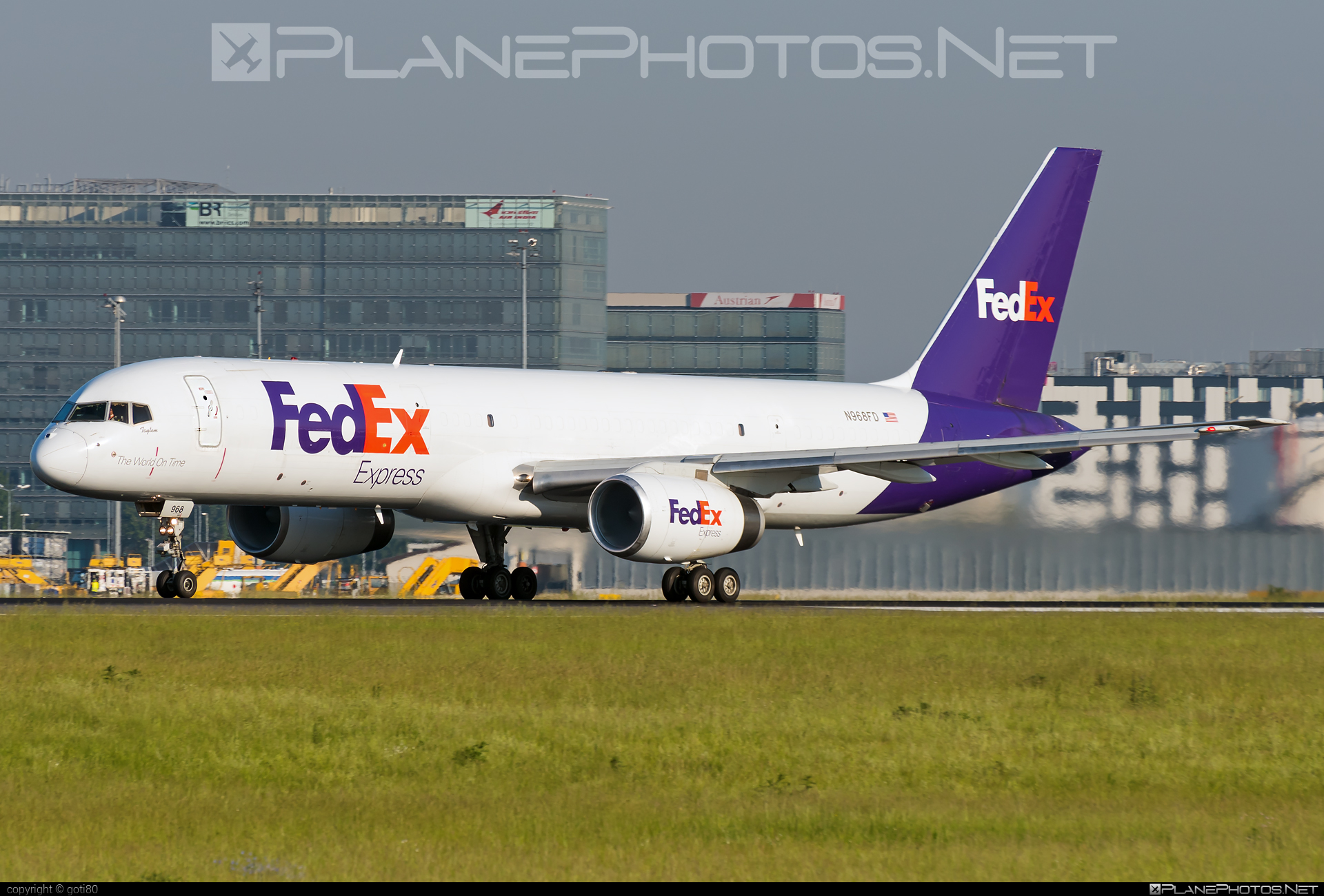 Boeing 757-200SF - N968FD operated by FedEx Express #b757 #boeing #boeing757 #fedex #fedexairlines #fedexexpress