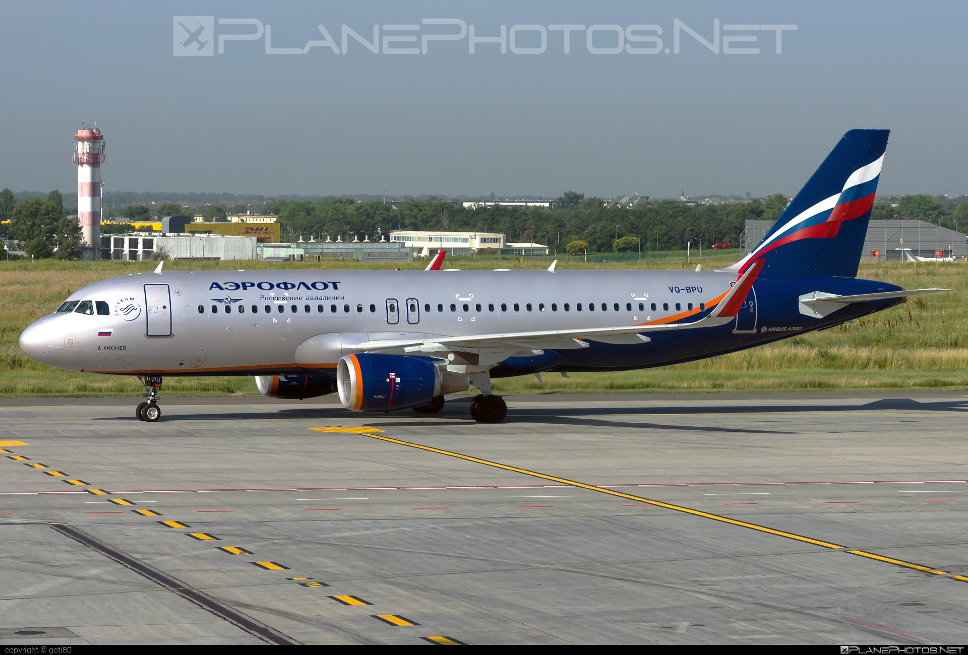 Airbus A320-214 - VQ-BPU operated by Aeroflot #a320 #a320family #aeroflot #airbus #airbus320