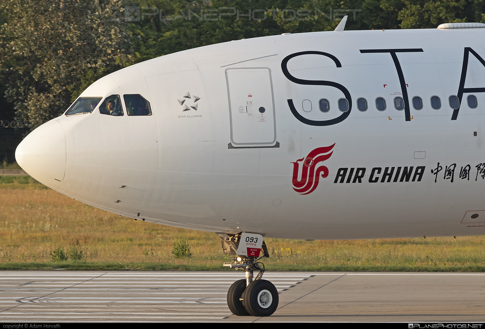 Airbus A330-243 - B-6093 operated by Air China #a330 #a330family #airbus #airbus330 #airchina #staralliance