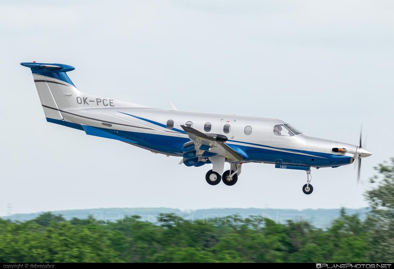 Pilatus PC-12/47E - OK-PCE operated by OK AVIATION Wings #okaviation #okaviationwings #pilatus