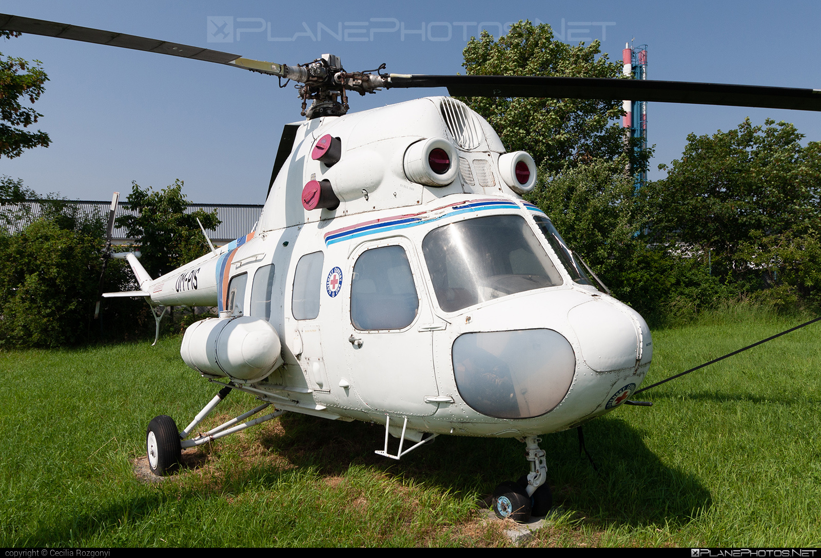 Mil Mi-2 - OM-PIS operated by Private operator #mil #milhelicopters