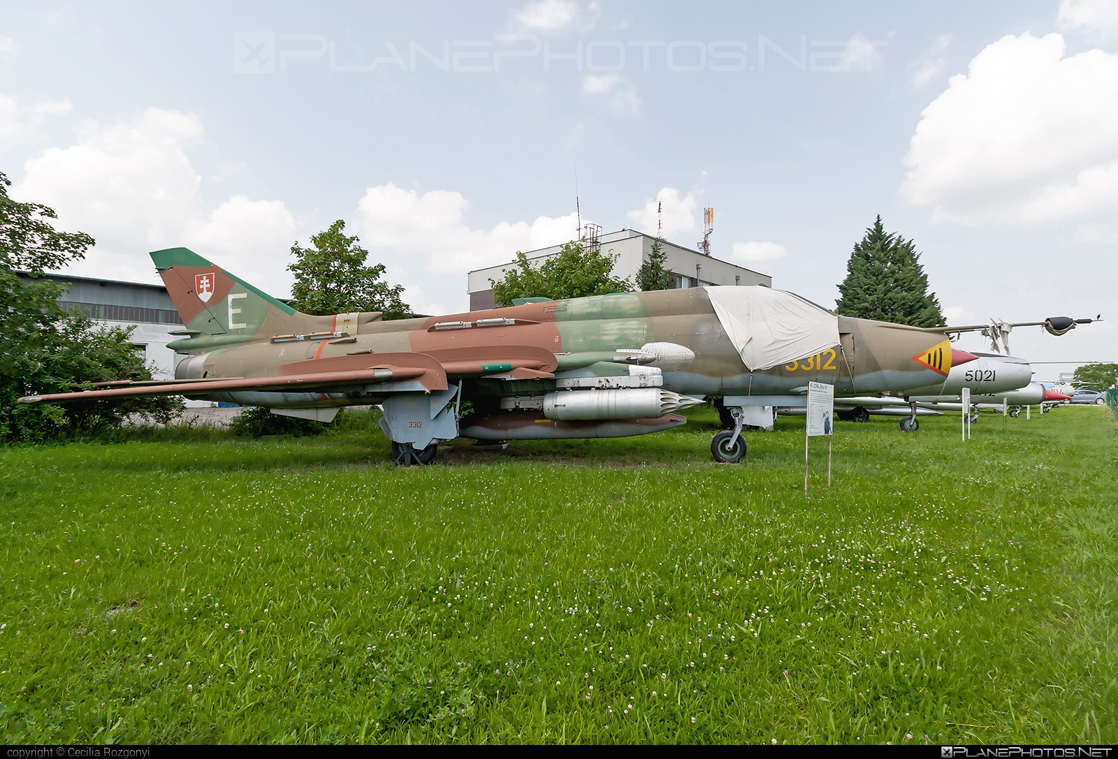 Sukhoi Su-22M4 - 3312 operated by Vzdušné sily OS SR (Slovak Air Force) #slovakairforce #sukhoi #vzdusnesilyossr