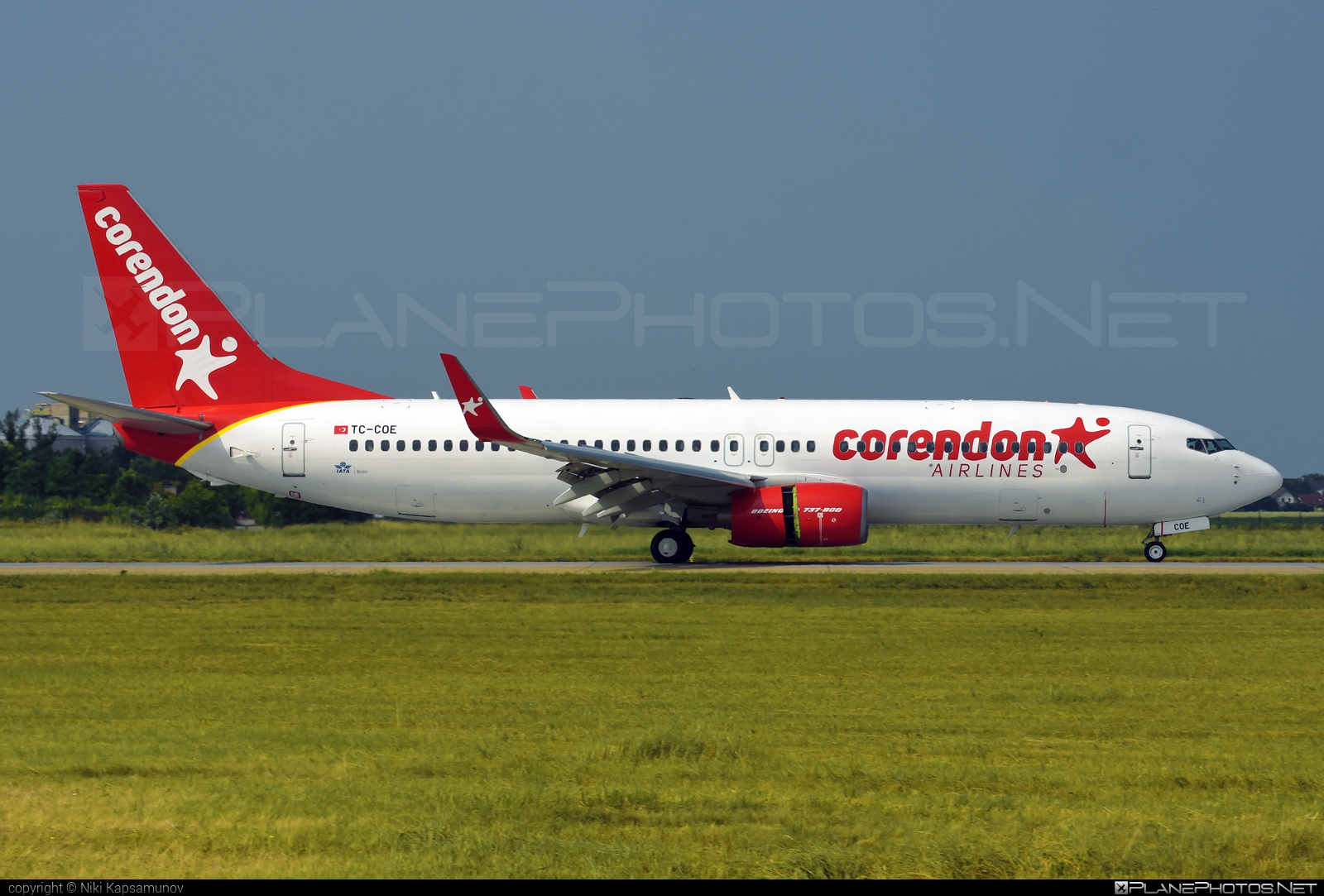 Boeing 737-800 - TC-COE operated by Corendon Airlines #b737 #b737nextgen #b737ng #boeing #boeing737