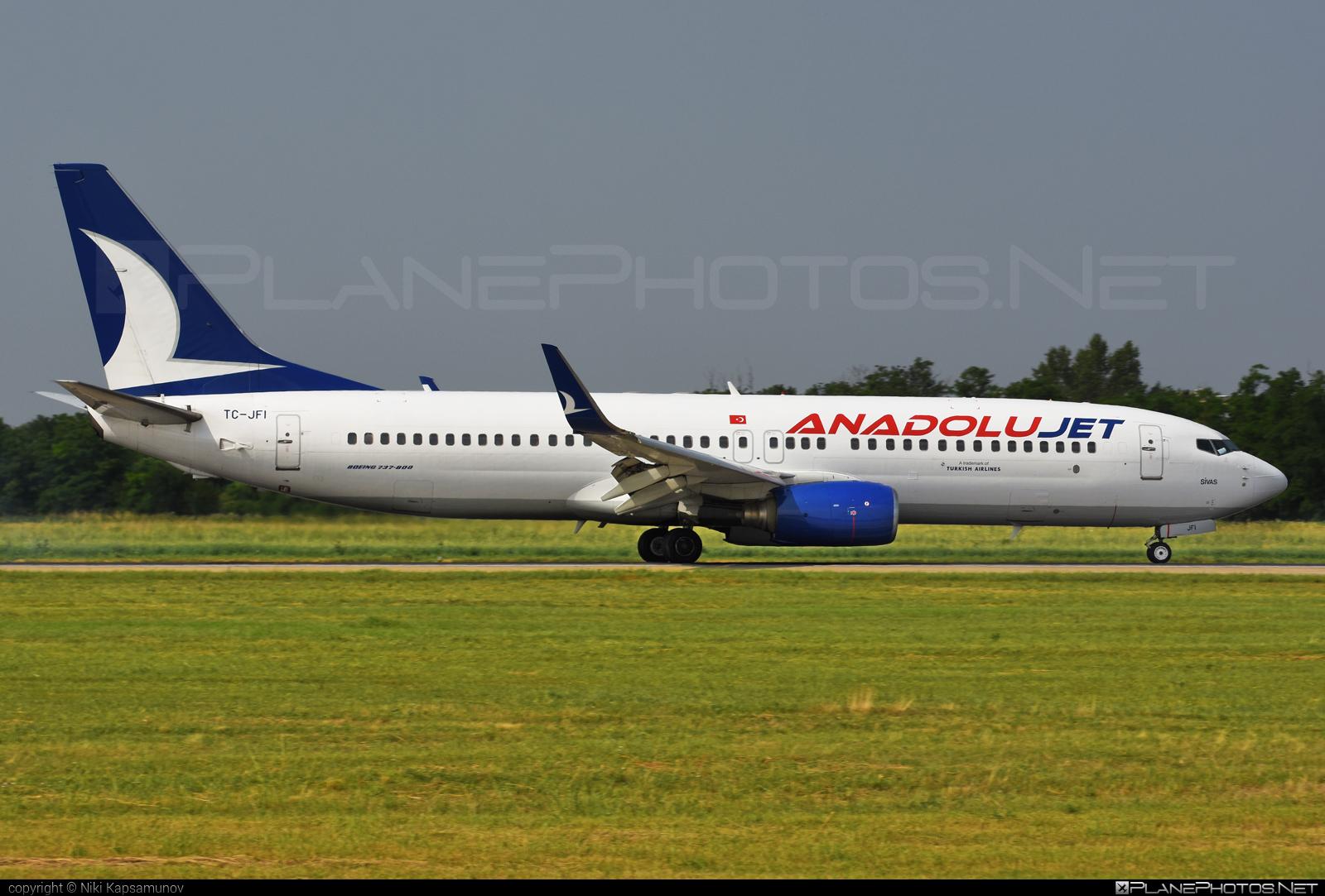 Boeing 737-800 - TC-JFI operated by AnadoluJet #b737 #b737nextgen #b737ng #boeing #boeing737
