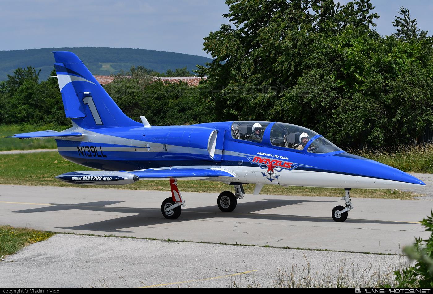Aero L-39C Albatros - N139LL operated by Mayzus Aerobatic Jet Team #aero #aerol39 #aerol39albatros #aerol39calbatros #albatros #l39 #l39c #l39calbatros #mayzusaerobaticjetteam