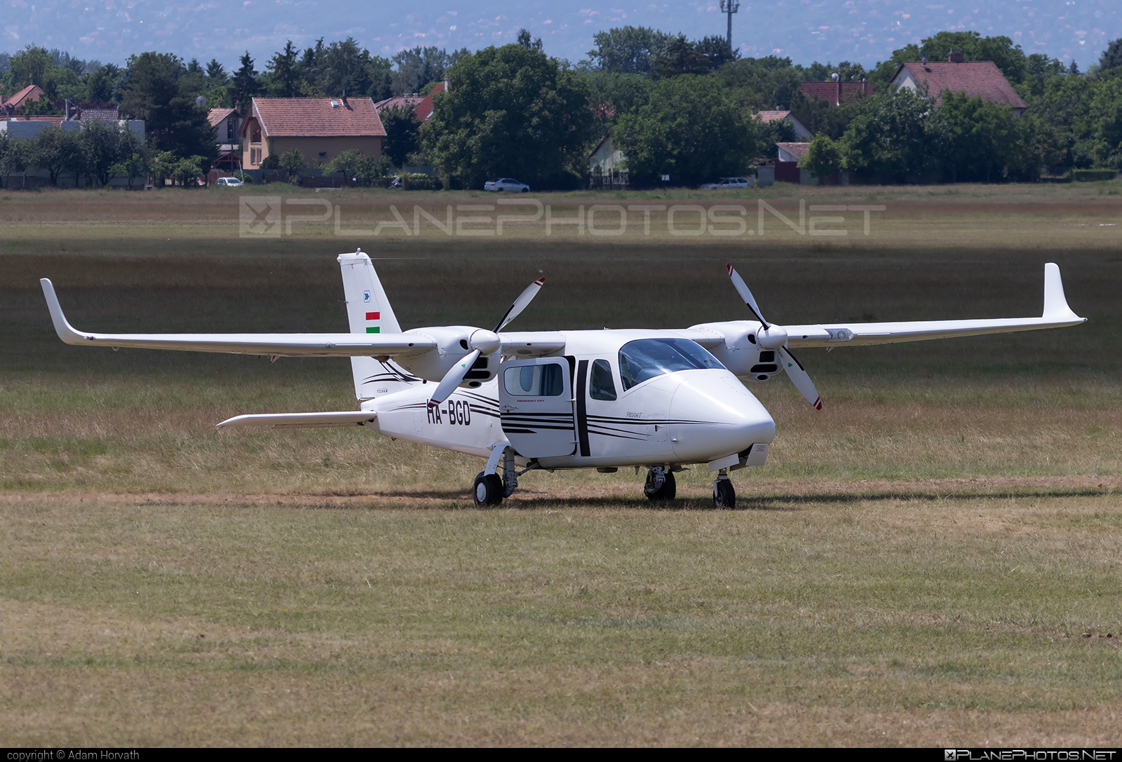 Tecnam P2006T - HA-BGD operated by Private operator #tecnam